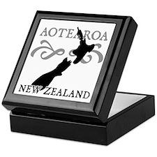 Aotearoa New Zealand Keepsake Box