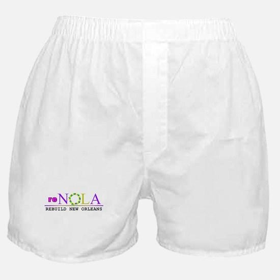 re-NOLA . Rebuild New Orleans Boxer Shorts