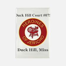 Duck Hill Court #075 Rectangle Magnet