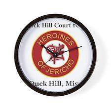 Duck Hill Court #075 Wall Clock