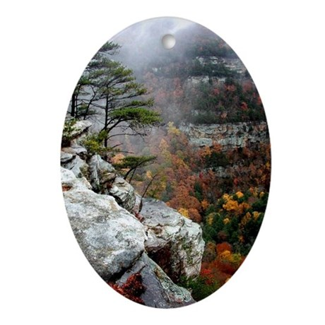 Cloudland Bliss Oval Ornament