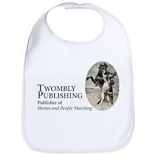 Classic Twombly Publishing logo on beautiful Bib