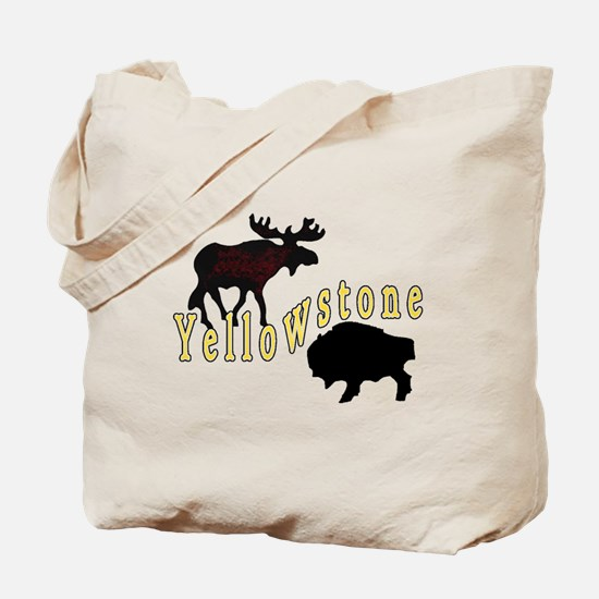 Bison Moose Yellowstone Tote Bag