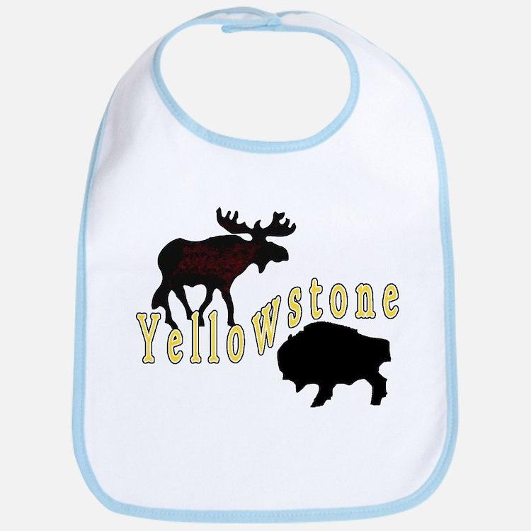 Bison Moose Yellowstone Bib