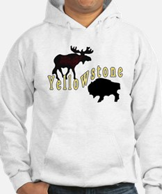 Bison Moose Yellowstone Hoodie