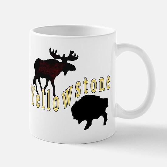 Bison Moose Yellowstone Mug