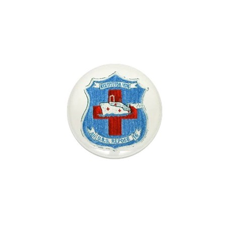USS REPOSE Mini Button (100 pack)