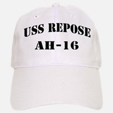 USS REPOSE Baseball Baseball Cap