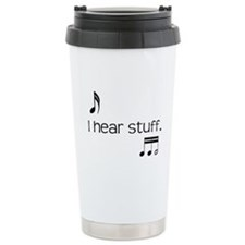 Cute Viola Travel Mug