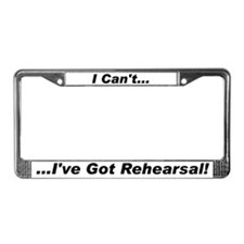 Funny Theatre License Plate Frame