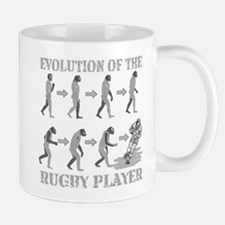 evolution of rugby Mug