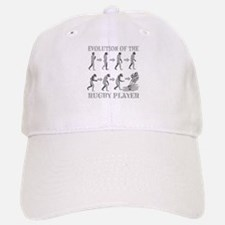 evolution of rugby Baseball Baseball Cap