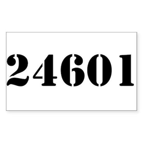 24601 Rectangle Sticker