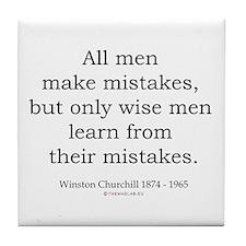 Winston Churchill 22 Tile Coaster