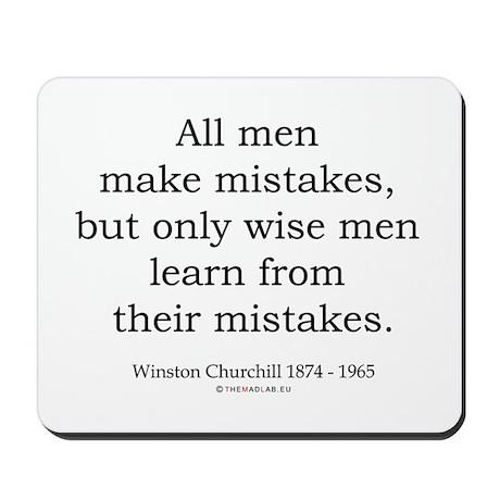 Winston Churchill 22 Mousepad