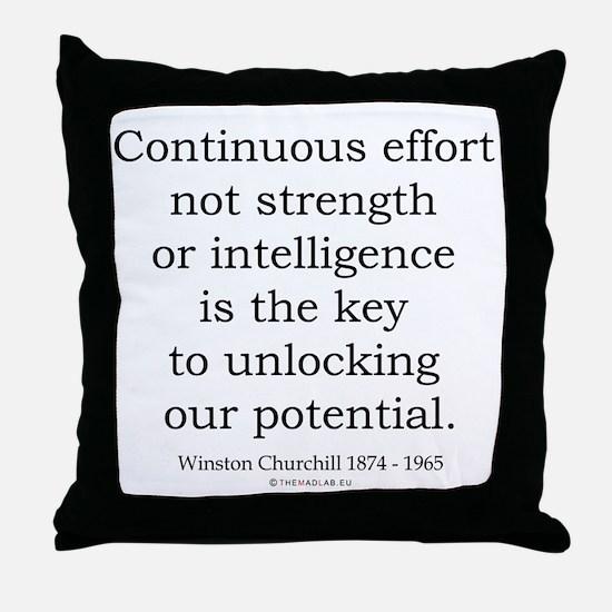 Winston Churchill 23 Throw Pillow
