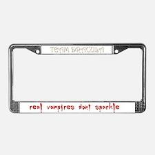 Team Dracula License Plate Frame