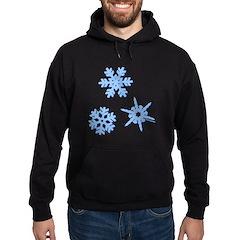 3-D Snowflakes Hoodie