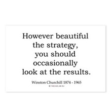 Winston Churchill 26 Postcards (Package of 8)