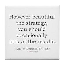 Winston Churchill 26 Tile Coaster