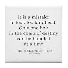 Winston Churchill 27 Tile Coaster