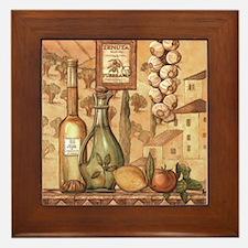 Unique Italian kitchen Framed Tile