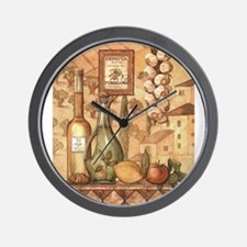 Unique Tuscan Wall Clock