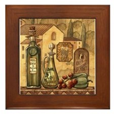 Cute Oliver Framed Tile