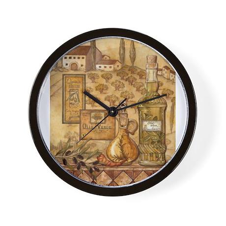 cute italian kitchen wall clock