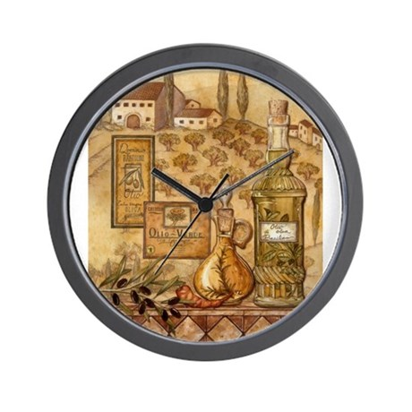 Unique Italian Kitchen Wall Clock