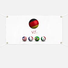 Germany vs The World Banner