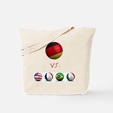Germany vs The World Tote Bag