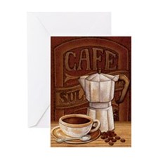 Unique Drinking cup Greeting Card