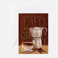 Cute Espresso Greeting Card