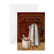 Cute Drinking cup Greeting Card