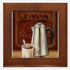 Unique Mocha latte Framed Tile