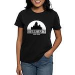 Women's Dark T-Shirt Hellsinki Moon