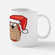 SANTA BULLDOG Mug