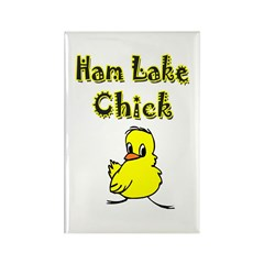 Ham Lake Chick Rectangle Magnet (100 pack)