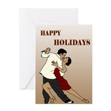 tango holidays Greeting Card