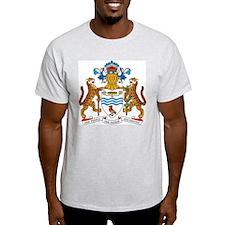 Guyana Coat Of Arms Ash Grey T-Shirt