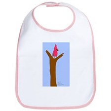 Cardinal In Branches - Baby Bib