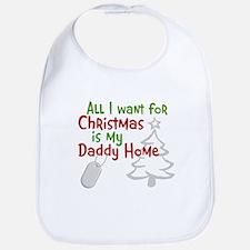 My Santa Wish Came True Bib