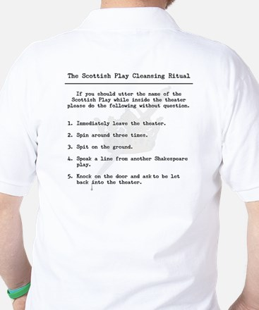 The Scottish Play Golf Shirt