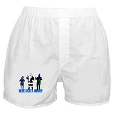 Blue Santa Group Boxer Shorts