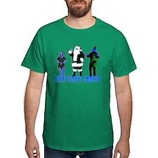 Blue Santa Group T-Shirt