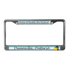 Muddy License Plate Frame
