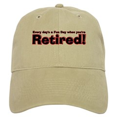 Retired: Broke But Happy Baseball Cap
