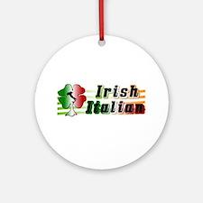 Irish Italian Ornament (Round)