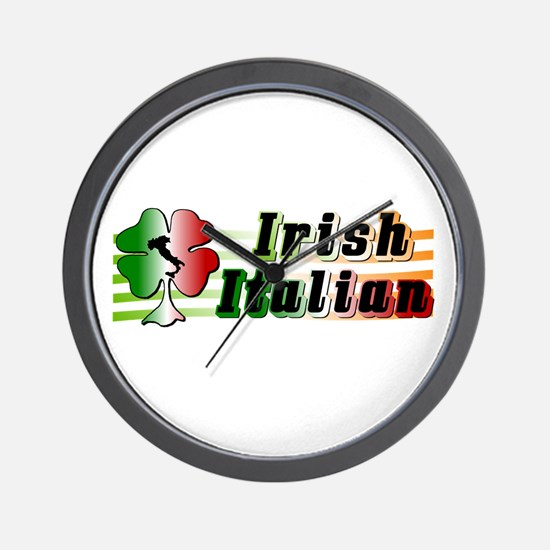 Irish Italian Wall Clock